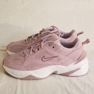 Nike Women's T2K Tekno Shoes Plum Chalk